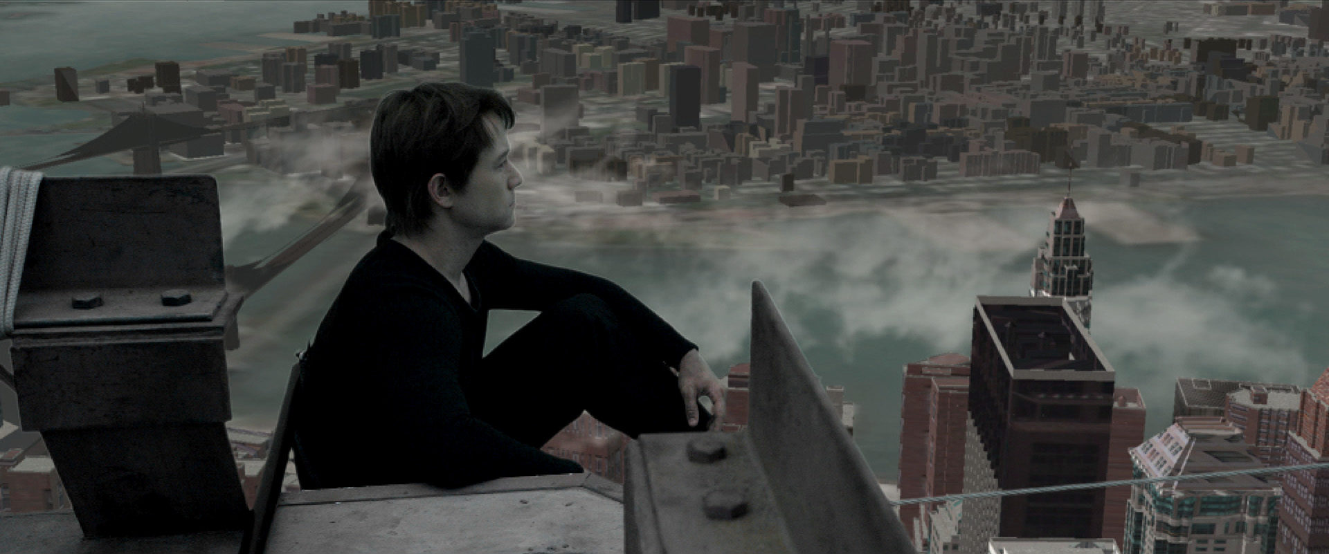 "Postvis visualized the New York City skyline for early cuts of Robert Zemeckis' ""The Walk."""