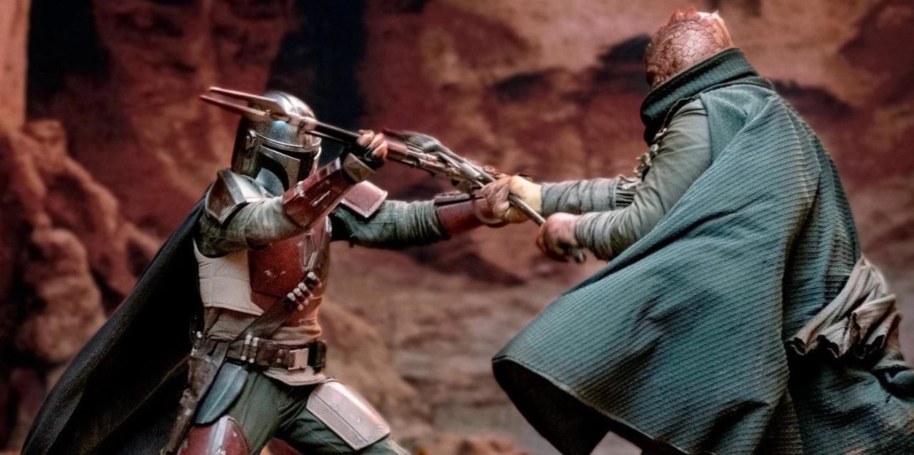 the mandalorian, fight scene, disney+